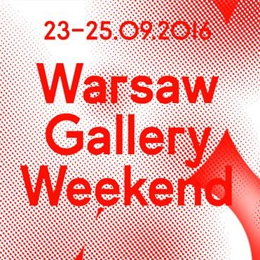 Guided tour during Warsaw Gallery Weekend.